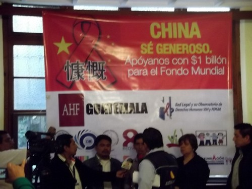 Guatemala: China Global Fund Protest