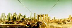 Brooklyn Bridge (rueckenwind) Tags: city newyork lomo lomography horizon brooklynbridge