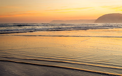 Addis (perkot) Tags: ocean sunset sea sky sun seascape sand australia victoria cliffs greatoceanroad anglesea
