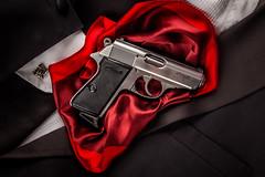 Walther PPK/S (benjamingettinger) Tags: red james gun smith tuxedo pistol bond ppk 007 walther wesson ppks spy007ppkppkspistolsmithwaltherwessonbondgunjamesredtuxedo