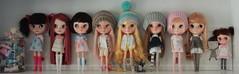 A Doll A Day. Dec 8.  Old Dolly Shelf.