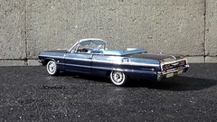 1964 Chevrolet Impala SS 409 Convertible (JCarnutz) Tags: chevrolet convertible 1964 diecast 124scale impalass wcpd