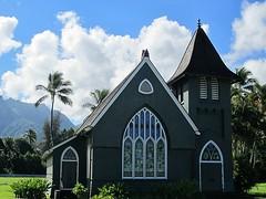 Wai`oli Hui`ia Church (kenjet) Tags: sky church clouds island hawaii kauai hawaiian hanalei waiolihuiiachurch waiolihuiia