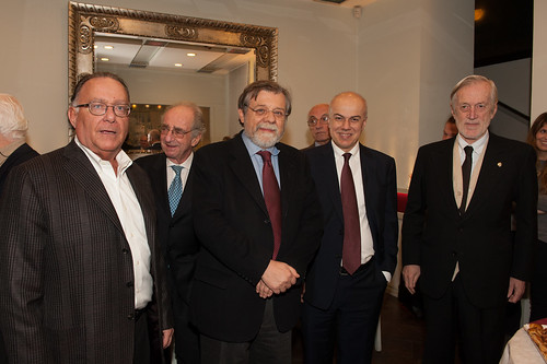 20 gennaio 2014 da sin Mauro della Porta Raffo, Livio Caputo, Angelo Panebianco, Edoardo Croci, Carlo Scognamiglio