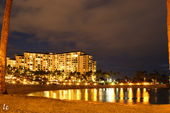 Ko Olina Beach Club, Oahu, Hawaii TK9A9285-3 (lycheng99) Tags: longexposure nightphotography beach night reflections hawaii oahu honolulu koolina koolinabeachresort mygearandme mygearandmepremium mygearandmebronze mygearandmesilver