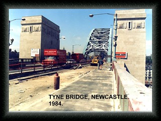 A00250 tyne bridge newcastle  1984