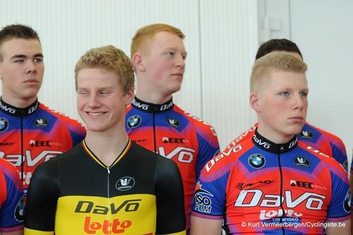 Ploegvoorstelling Davo Cycling Team (77)