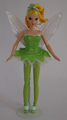 Mattel Tinker Bell Doll (2004) - First Look - Deboxed - Standing - Full Front View (drj1828) Tags: 2004 standing us doll wand tinkerbell pixie dust purchase mattel posable 11inch deboxed