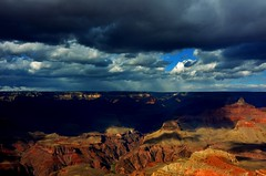 Canyon Cover  (Explore) (forestforthetress) Tags: arizona sky nature clouds landscapes grandcanyon parks canyon nationalparks grandcanyonnationalpark explored omot