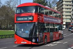 RATP London United LT134 LTZ1134 (Will Swain) Tags: park uk travel england bus london buses corner march britain united transport hyde greater 5th ratp 2014 lt134 ltz1134