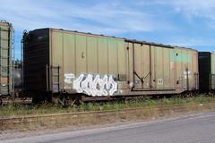 QGRY 80711 B Ottawa, Ontario 08212007 ©Ian A. McCord (ocrr4204) Tags: ontario canada train wagon kodak ottawa traincar pointandshoot mccord ocr walkley z740 freightcar ocrr ottawacentralrailway walkleyyard ianmccord ianamccord