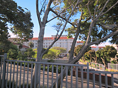 Groote Schuur Hospital (Linda DV) Tags: africa travel rain canon southafrica geotagged capetown cape sight kaapstad southernafrica 2013 geomapped lindadevolder powershotsx40