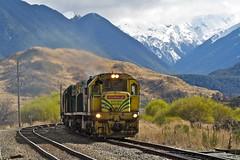 Cass, New Zealand (UW1983) Tags: newzealand trains railroads coaltrains kiwirail