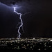 Lightning strike in Albuquerque - August 2012