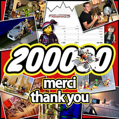 200000 VUES VIEWS ! MERCI THANK YOU !! (COLLECTOR FIGURES) Tags: photo lego you photos merci collection thank views vues 200000
