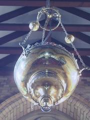 Sanctuary Lamp, St Thomas's, Nuthurst (Aidan McRae Thomson) Tags: reflection church victorian warwickshire hockleyheath sanctuarylamp guesswhereuk nuthurst gwuk