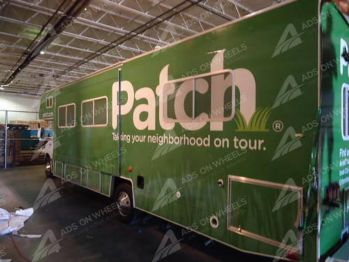 Rv wrap for Patchcom boston, ma
