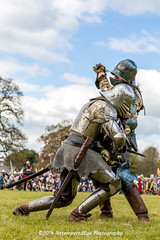 [2014-04-19@15.13.00a] (Untempered Photography) Tags: history costume fight helmet battle medieval weapon sword knight shield combat armour reenactment champions skirmish combatant chainmail canonef50mmf14 perioddress platearmour gambeson mailarmour untemperedeye canoneos5dmkiii untemperedeyephotography glastonburymedievalfayre2014