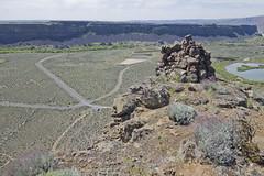umatilla rock - looking down - south end (russell elbert) Tags: umatillarock