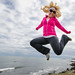 Rhode Island cliff walk jump!