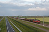 DBS 1615 + Uc - Dron-Stb - 61300 - 20140506 (Cees_1251) Tags: 1615 dbs speciaal hanzelijn ketelwagens 61300 containerwagens volbeladen onkfh dronstb