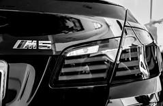 BMW M5 (F10) (Jeferson Felix D.) Tags: blackandwhite white black car branco canon eos f10 preto bmw luxury m5 pretoebranco luxo luxurycar bmwm5 18135mm 60d canoneos60d bmwm5f10
