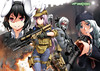 Anime call of duty (Vangeli MacTavish) Tags: callofduty mw3 modernwarfare2