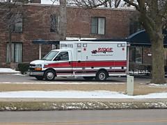 IL - Ridge Ambulance Service (Inventorchris) Tags: office illinois district ambulance il ridge vehicles service emergency paramedic protection