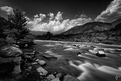 River Kunar, Kunar Valley (Zahid Farooq Photography) Tags: longexposure travel pakistan monochrome landscape mono scenic roadtrip blacknwhite kaghan kunarvalley