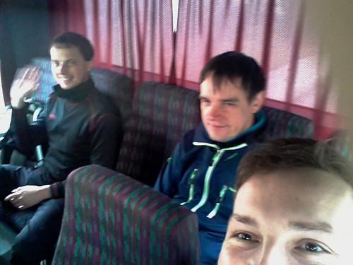 Selfie z busu :).