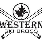western ski cross logo