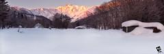 A l l T h e S u r v e y o r s (AnthonyGinmanPhotography) Tags: panorama mountains japan sunrise hakuba novoflex leefilters goryudake olympuse30