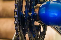 Teeth (CD_MT) Tags: macro bike closeup nikon texas bokeh houston chain nikkor recumbent bacchetta 2015 105mmf28 nikond4 carbonaero20 bacchettaca20