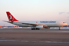 Turkish Cargo Airbus A330-200F TC-JDP, 07-Mar-2012 (Sergey Kustov) Tags: airplane airport russia moscow cargo airbus airlines turkish freighter svo sheremetyevo aircaft uuee a330200f tcjdp