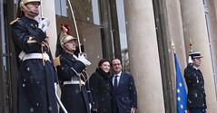 Wizyta premier Ewy Kopacz w Paryżu (Kancelaria Premiera) Tags: premier paryż francja francoishollande konsultacje ewakopacz