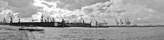 Hamburg Hafenpanorama (Der Kremser) Tags: city panorama port germany deutschland europa europe hamburg eu casio stadt april hh 2012