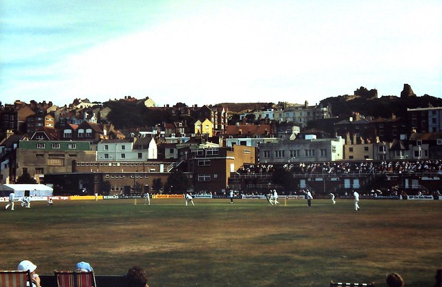 89-040  The last First Class Match played at the Central Recreation Ground Hastings - Sussex vs Middlessex