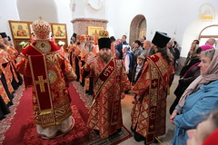 38. Paschal Prayer Service in Svyatogorsk / Пасхальный молебен в соборном храме г. Святогорска