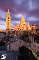 After the storm (A.G. Photographe) Tags: sunset paris france french nikon europe montmartre sacrcoeur ag capitale nikkor franais orage parisian goldenhour anto basilique xiii parisien 1424 d810 antoxiii agphotographe