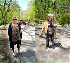 Two Girls, One Rather Stylish, The Other Bordering On Frumpiness (Laurette Victoria) Tags: wisconsin zoo blondes linda milwaukee laurette milwaukeecountyzoo