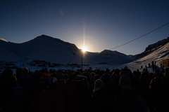 Welcome back Sun (Benocrash) Tags: sun snow norway night pole svalbard arctic neige polar nuit arctique longyearbyen northernmost polaire norvge d7100