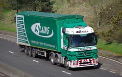 D J Laing of Carnoustie Mercedes Actros SW59JGO (andyflyer) Tags: truck transport lorry haulage hgv carnoustie actros roadtransport mercedesactros djlaing sw59jgo