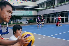 On and Off the court (Alan P. in Hong Kong) Tags: sony a65 documentary hongkong city life volleyball