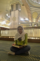 _DSC8822 (Veronika FoX) Tags: girl praying mosque ankara koran