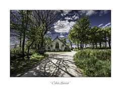 #DH678 (Didier Hannot Photography) Tags: road blue trees sunset sky green church clouds rural landscape countryside brittany quiet shadows cloudy secret meadow peaceful tranquility bretagne inner prairie intimate cloudysky pontaven paulgauguin rurallandscape bellesphotos lechristjaune beautifulphotos trmalo countrysidelandscape chapelledetrmalo didierhannotphotography