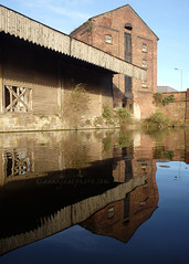 Bank Hall Warehouse (.annajane) Tags: uk england reflection water liverpool canal warehouse wharf merseyside leedsliverpoolcanal kirkdale coveredwharf