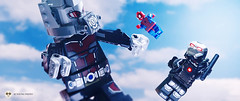 Giant Antman (Young's Lego) Tags: america photography photo war lego spiderman machine civilwar captain avengers antman legography