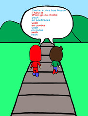 As We Walk - Supa Pewee Kids - Poster - Comic Book Pages Mason Valentine & B-Pop SPWK American Cartoon Kids Story Art Illustration Kodomo Real Classic Hip Hop Rap Rock Pop Dance Electronic Music Scene Funk Techno LP Wax Spin DJ EP Record Sales The Write L (tedlawrey1) Tags: world chile auto nyc light sculpture chicago blur classic feet halloween apple leaves silhouette monster metal fruit movie logo skeleton fun skull snowman ancient rocks paint pretty candle lego boots grim magic flash n australia safety suit story fairy rack cape mummy patch mad creature tale act myth scientist 6d keeper