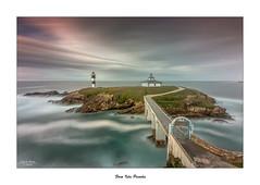 Faro de Isla Pancha... (Canconio59) Tags: espaa costa lighthouse faro island coast spain galicia lugo isla ribadeo largaexposicin islapancha canconio59