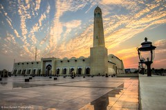 مبارك عليكم الشهر (Ziad Hunesh) Tags: sunset canon mosque mohammed tamron ramadan hdr islamic doha qatar شهر مبارك رمضان 650d إسلام abdulwahab zhunesh 16300mm
